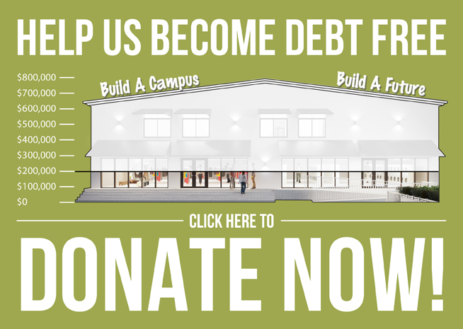 Help Us Become Debt Free